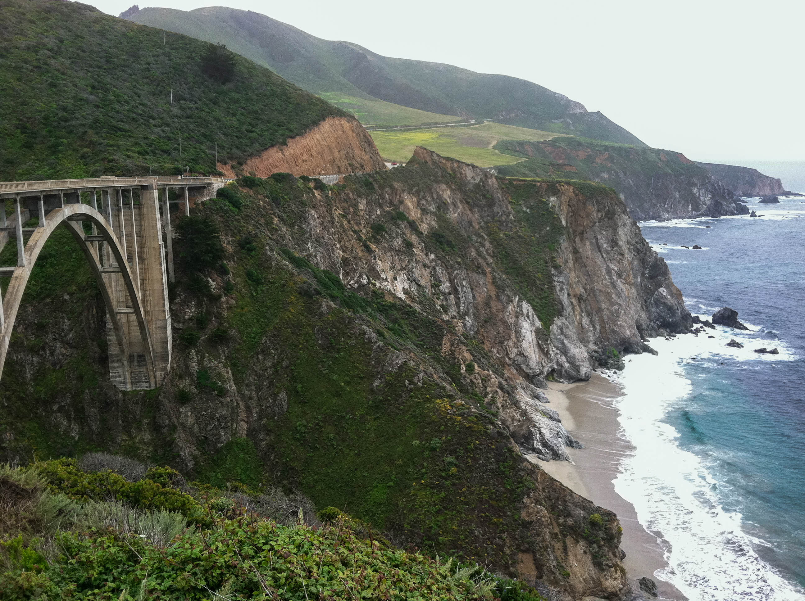 Big Sur, Bixby Bridge, On The Road, Jack Kerouac