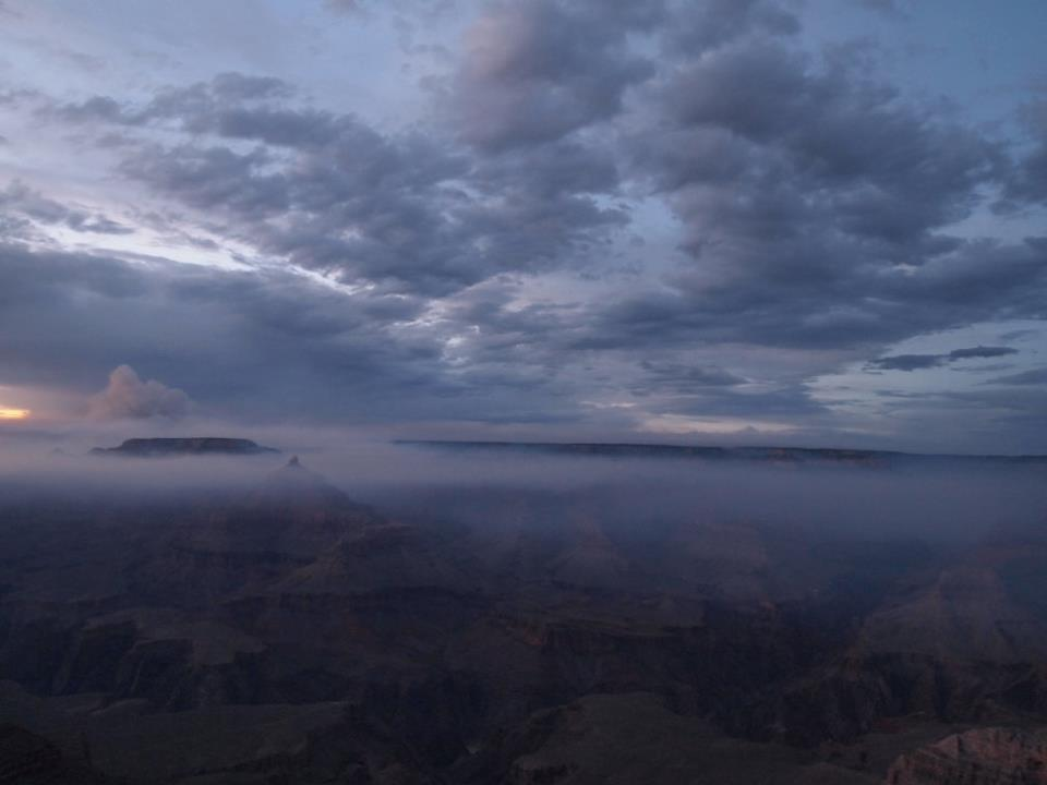 Grand Canyon, Sunset, Arizona, South Rim