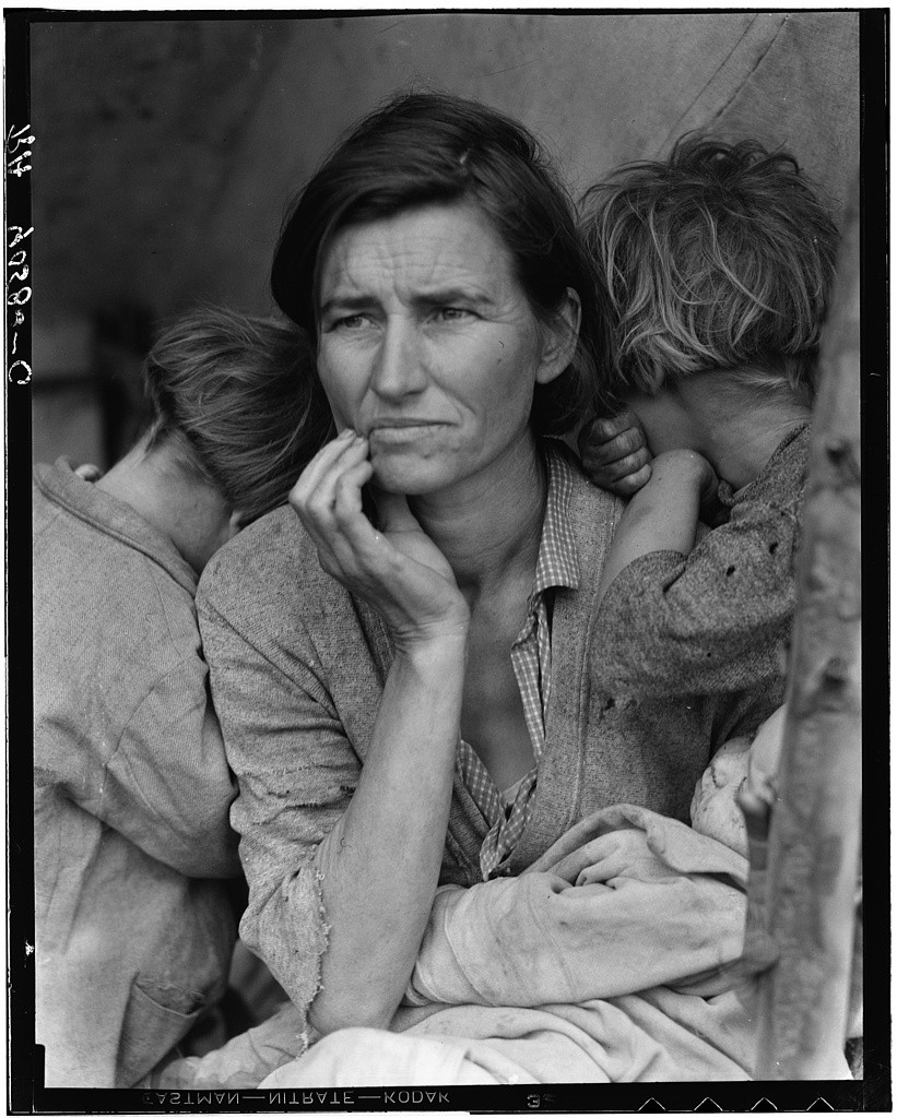 Lange, Dorothea. Library of Congress, Prints & Photographs Division, FSA/OWI Collection, [LC-DIG-fsa-8b29516]