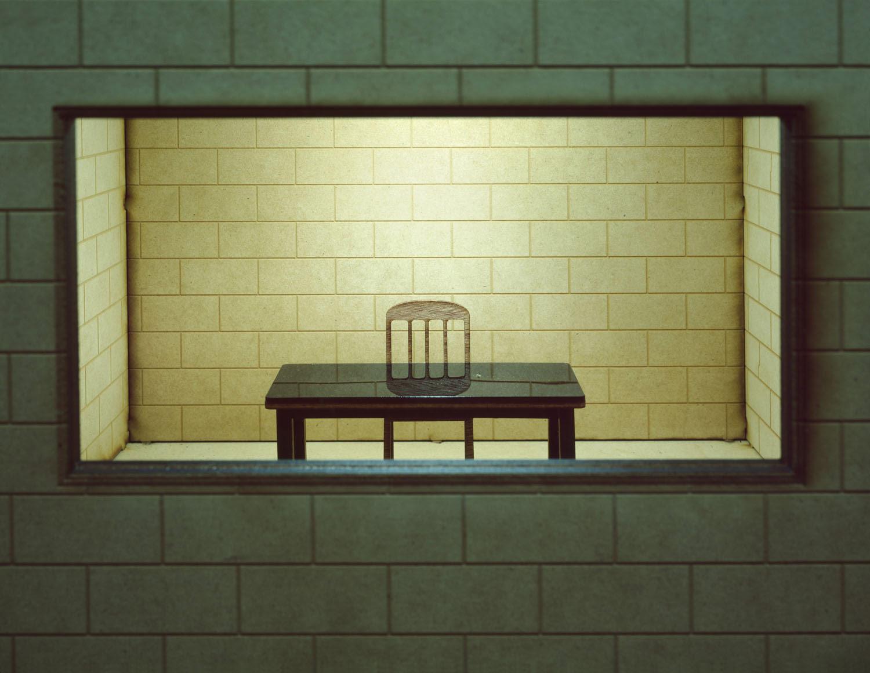 Yoav Friedlander, interrogation room, miniature, film