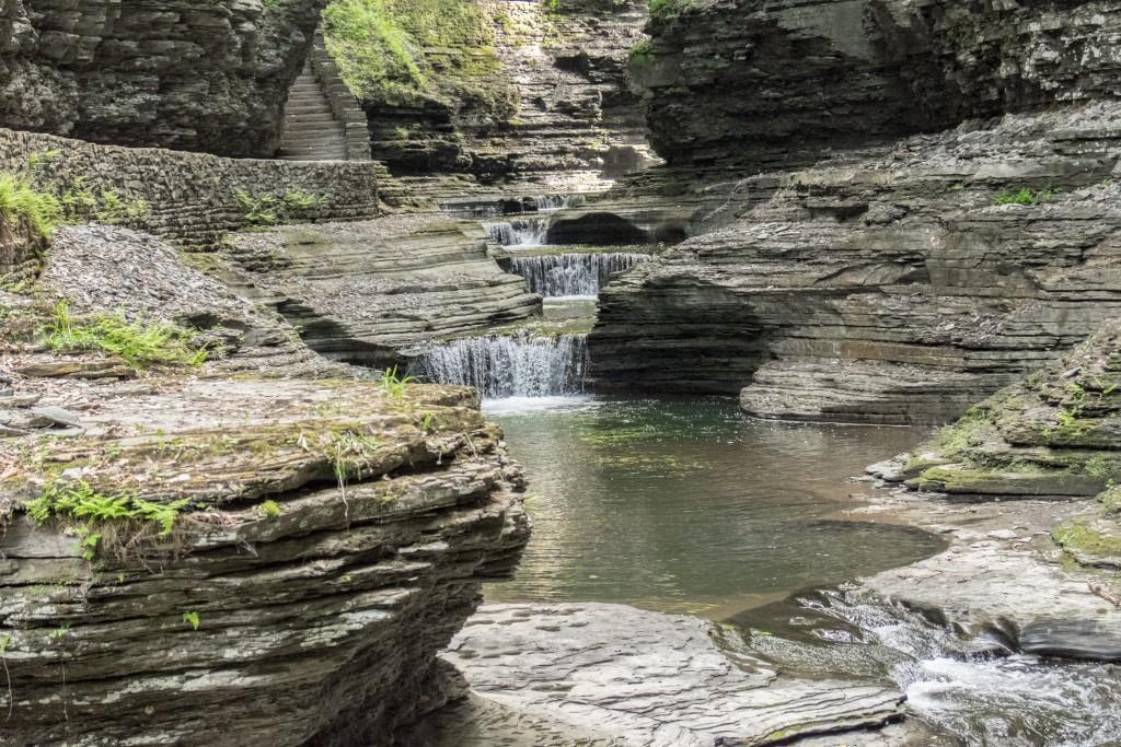 watkins glen, ny, new york, watkins glens state park, waterfall, upstate new york