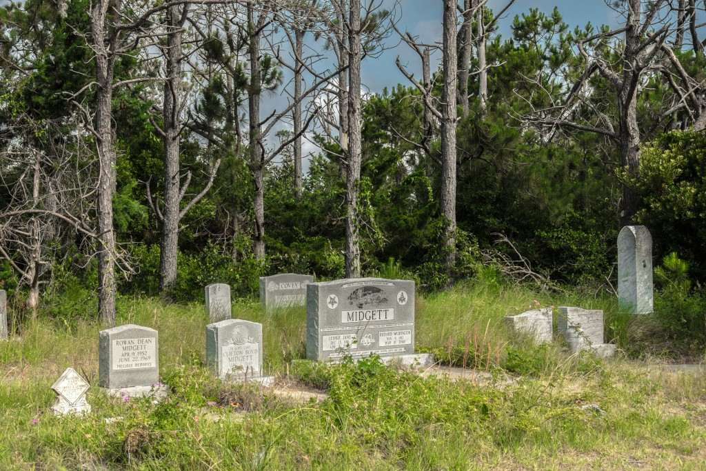 cemetery, rodanthe, north carolina, atlas, campground, outer banks