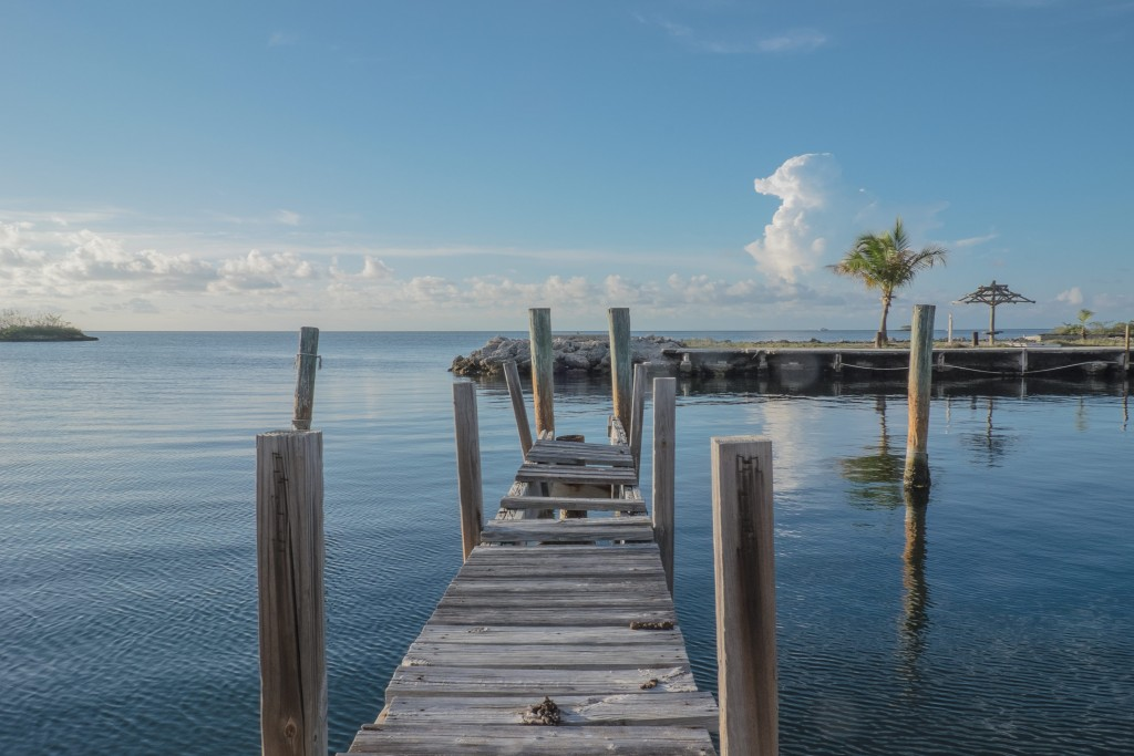 broken down pier, florida keys