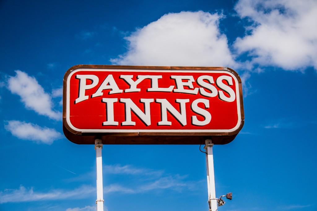 tucumcari, new mexico, route 66, americana, payless inns