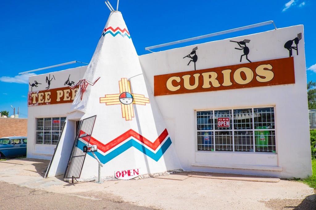 tucumcari, new mexico, pepe curios,  native american, route 66