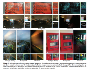 Google and MIT Create Algorithm To Remove Reflections From Photos