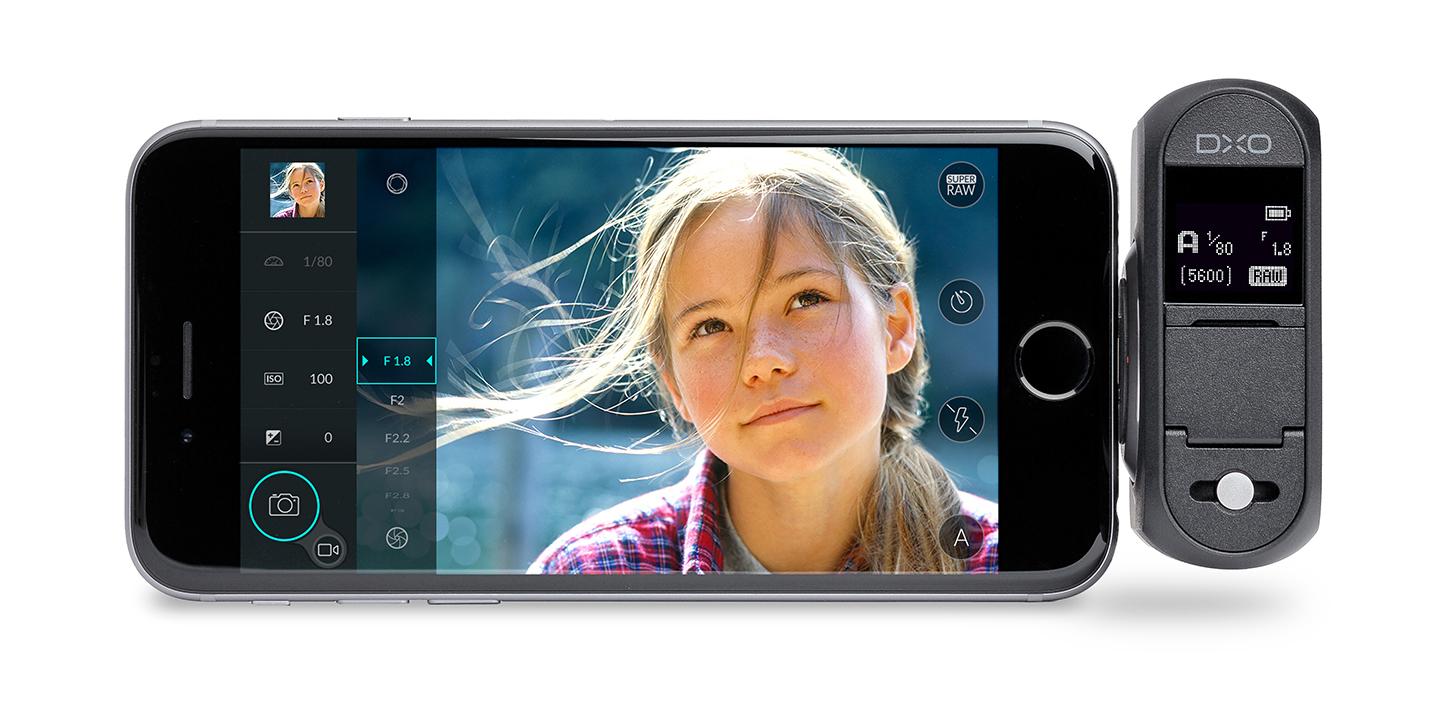 product camera shot, DxO ONE, iPhone camera