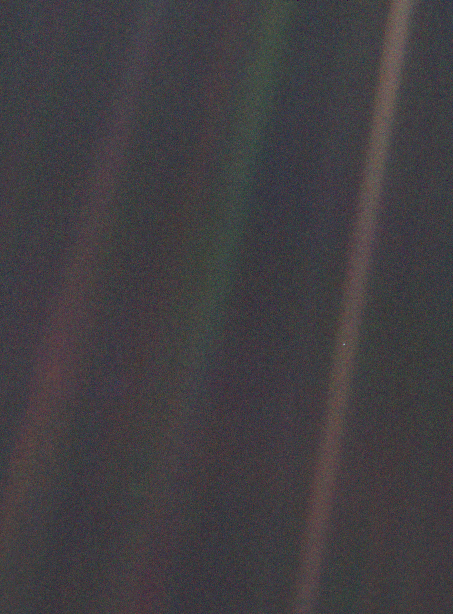 Pale Blue Dot, Voyager 1 spacecraft
