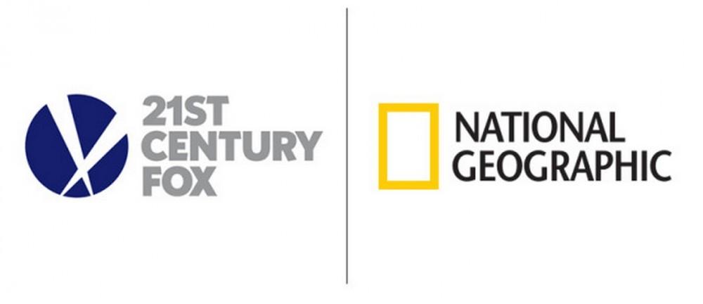 national geographic logo, screenshot with logos, 21st century fox logo