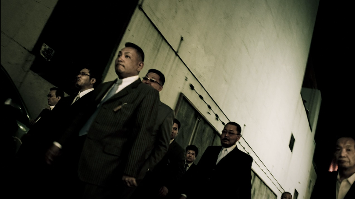 Anton Kusters, Yakuza, photograph of yakuza
