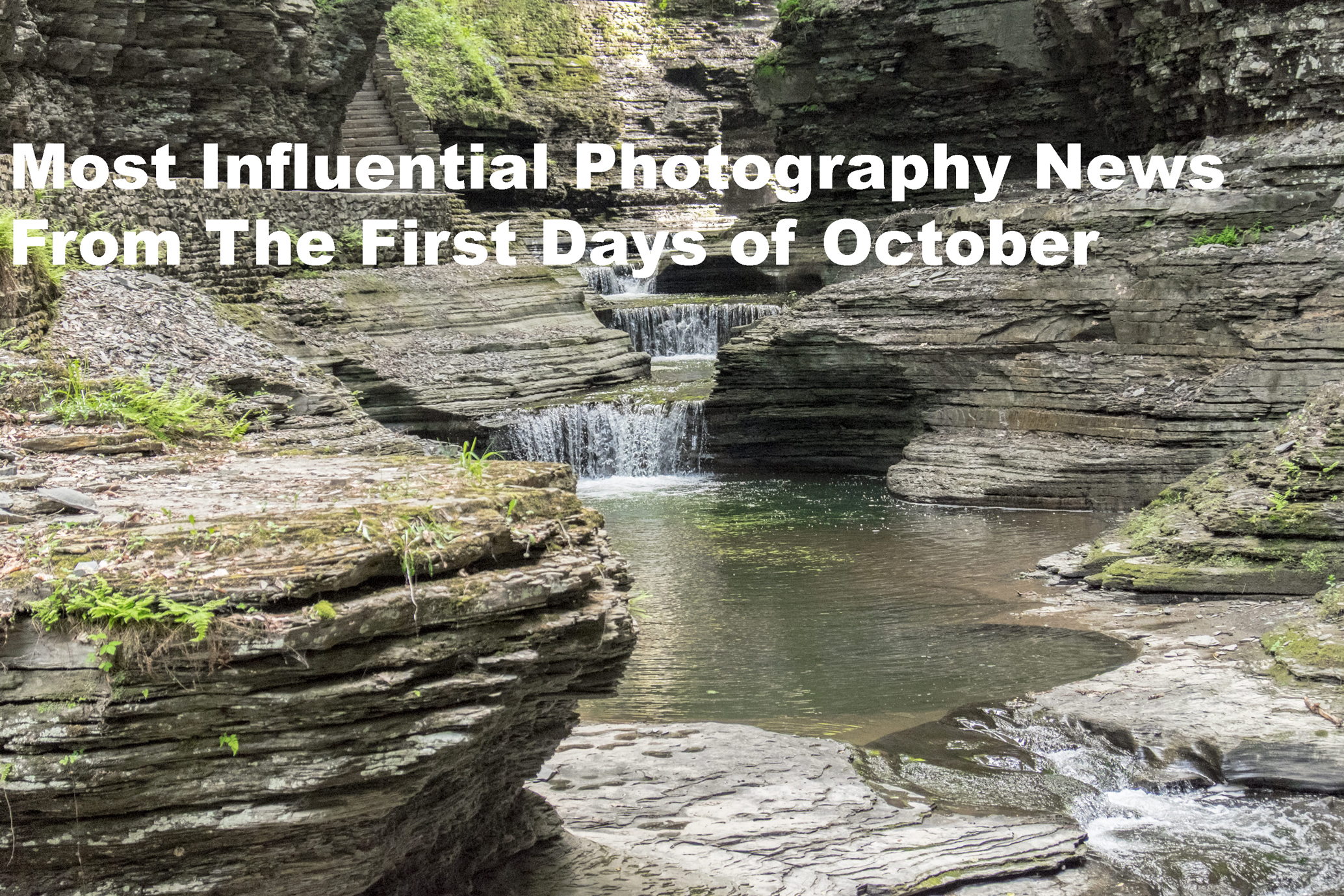 Most Influential Photography News From The First Days of October, watkins glens new york, waterfalls, cascades, Adam Crawford