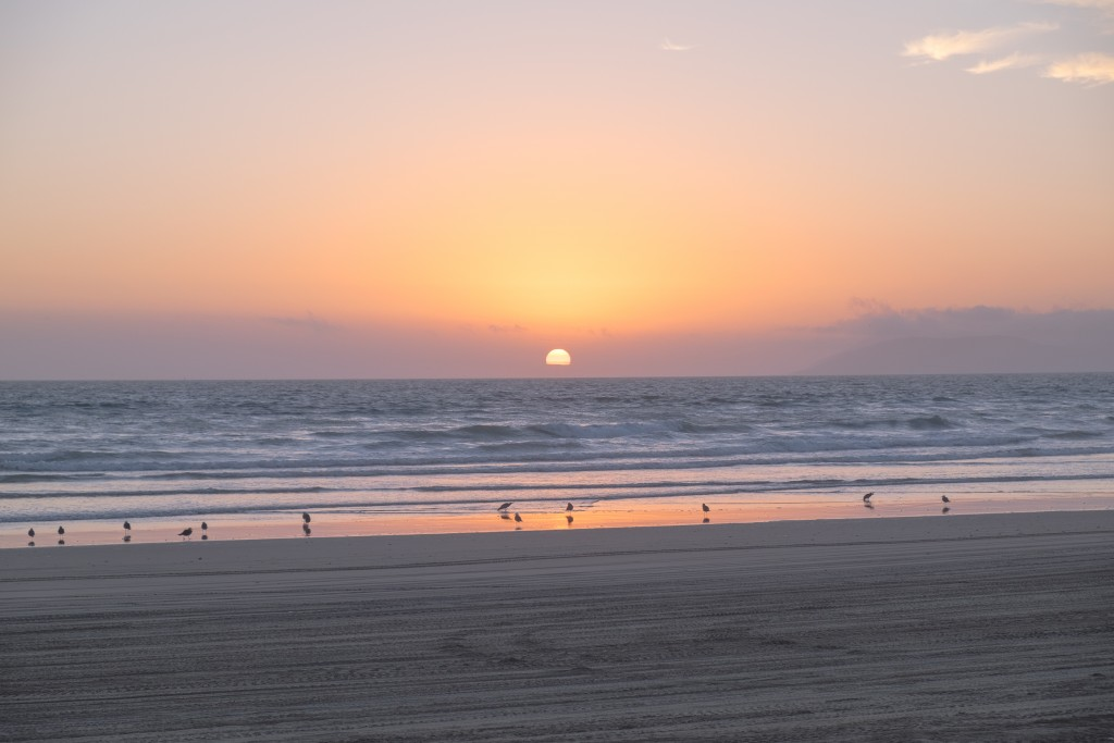 pismo beach sunset, Sunset Photo, © Adam Crawford, 2015,  landscape photography, the golden hour, sunset