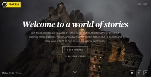 Maptia: The Medium.com For Photographers,  Writers, and Adventurers?