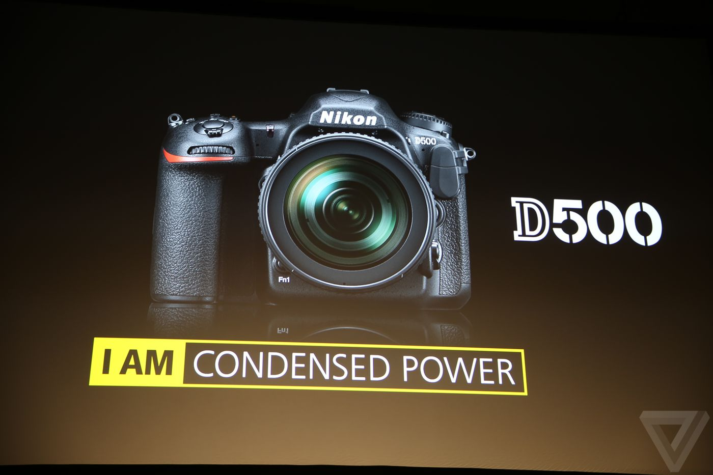 Nikon D500, dslr, CES 2016, product shot