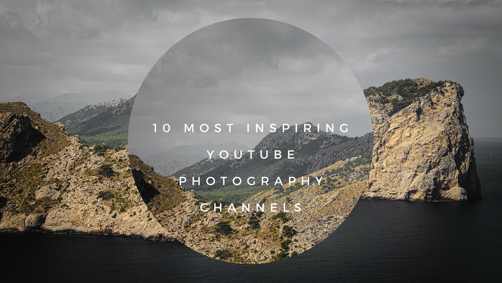 10 Most Inspiring YouTube Photography Channels,  infographic