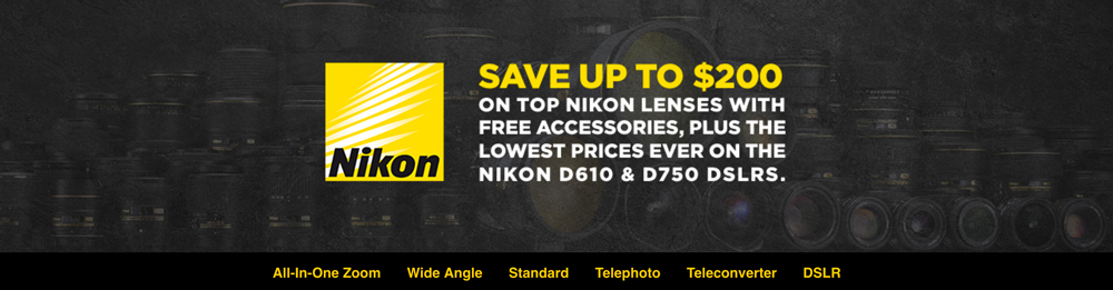 Photography news, adorama deals, Nikon lenses