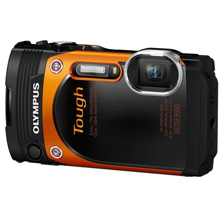 Olympus Stylus Tough TG-860 orange, adorama camera