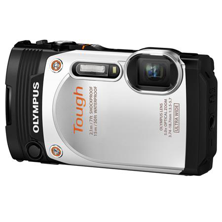 The Olympus Stylus Tough TG-860 white, adorama camera