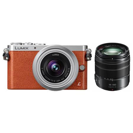 Panasonic Lumix DMC-GM1 Digital Camera with 12-32mm Lens orange, adorama camera