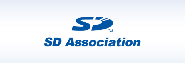 SD card class, SD Association logo, SD 5.0
