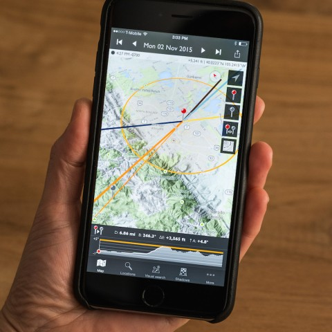 The Photographer's Ephemeris, app, photo shoot locations, 10 Tips On How To Scout The Best Photo Shoot Locations